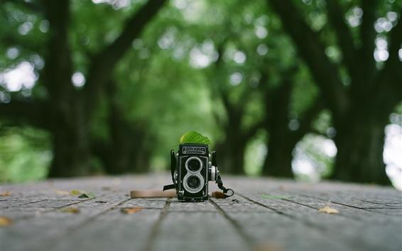 Fond d'écran Caméra Rolleiflex