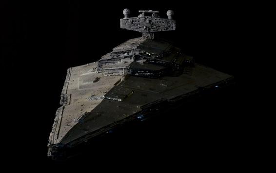 Wallpaper Star Wars, battlecruiser, art design