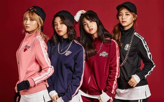 Wallpaper TWICE, Korean music girls 03