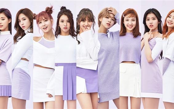 Fondos de pantalla TWICE, las chicas de la música coreana 07