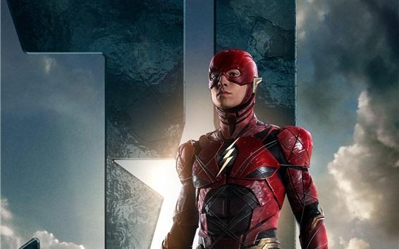 Fondos de pantalla El Flash, Liga de la Justicia 2017
