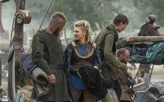 Papéis de Parede Os Vikings, série de TV quente