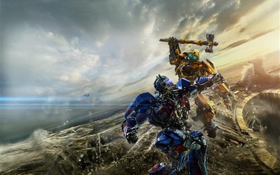 Papéis de Parede Transformers: The Last Knight, filme quente de 2017