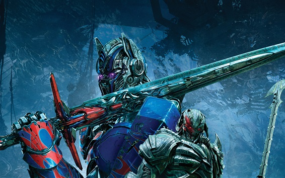 Transformers: The Last Knight, Optimus Prime Wallpaper Preview