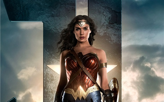 Fondos de pantalla Mujer Maravilla, Liga de la Justicia 2017