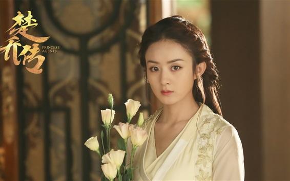 Fondos de pantalla Zhao Liying, serie de televisión china, agentes de la princesa