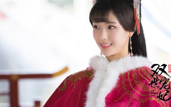 Fondos de pantalla Zhao Qing Yun, el amor eterno