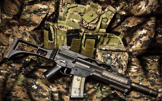 Wallpaper Automatic rifle, weapons
