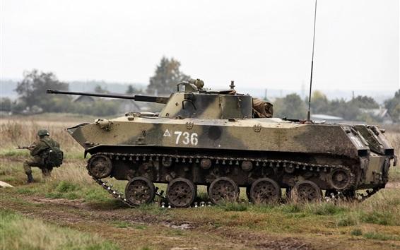 배경 화면 BMD-2 소련 공중 보병 전투 장갑차, 러시아