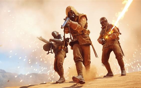 Fondos de pantalla Battlefield 1, soldados, lucha