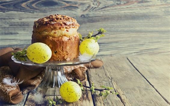 Wallpaper Cake, eggs, Easter theme