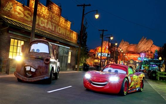 Wallpaper Cars 3, supercar, city, night, lights