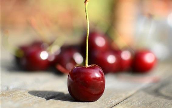 Wallpaper Cherry, fruit, juicy