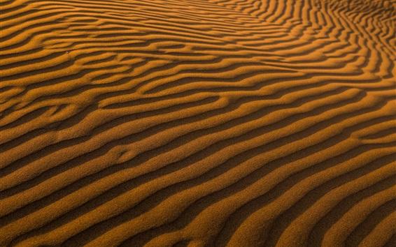 Wallpaper Desert, sand, surface, strips