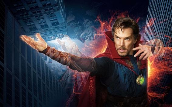 Fondos de pantalla Doctor Strange, Benedict Cumberbatch, película mágica