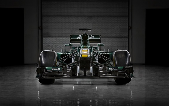 Wallpaper Formula 1 car front view