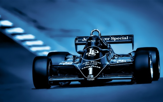 Wallpaper Formula 1 race car, front view, cool