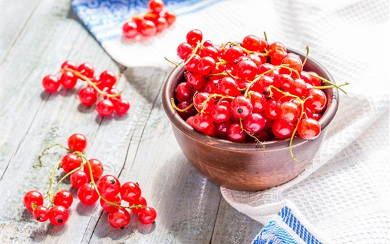 Fresh red currants Wallpaper Preview