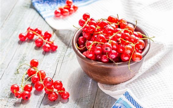Wallpaper Fresh red currants