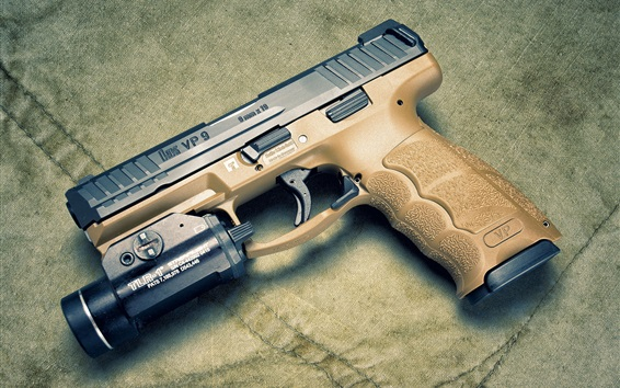 Wallpaper Heckler Koch VP9 self-loading pistol