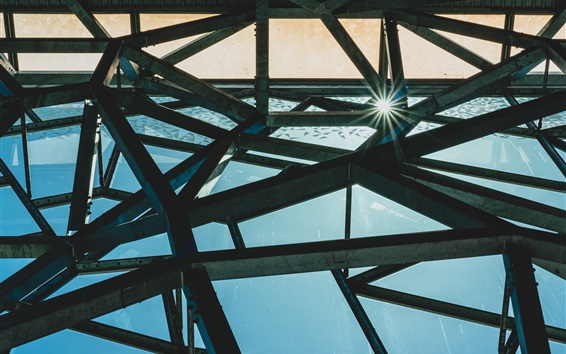 Fondos de pantalla Construcción de hierro