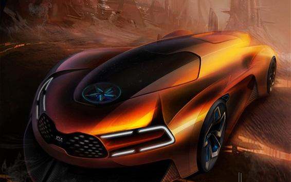 Wallpaper KIA concept car