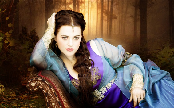 Fondos de pantalla Katie McGrath, Merlin, Serie de TV