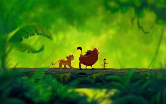 Wallpaper Lion King, cartoon movie