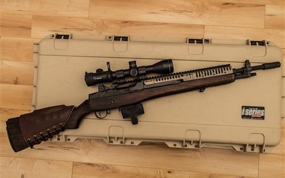 Wallpaper M14 Sniper rifle