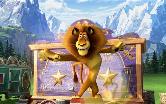 Papéis de Parede Madagascar 3, filme de desenho animado