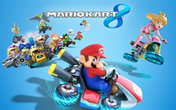 Wallpaper Mario Kart 8