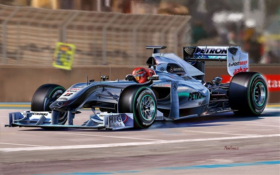 Обои Суперкар Mercedes-Benz Formula 1