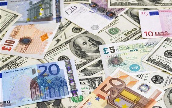 Обои Деньги, бумажная валюта