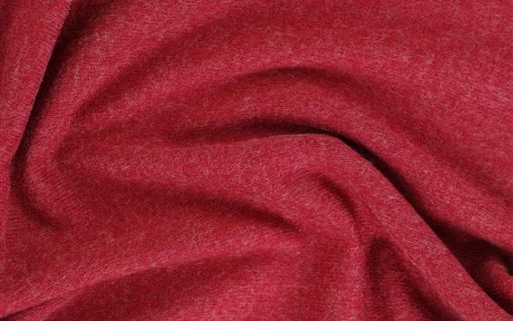 Fond d'écran Texture de tissu rouge