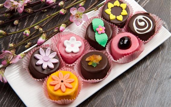 Fond d'écran Dessert doux, bonbon, chocolat