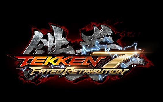 Fondos de pantalla Tekken 7, logotipo del juego