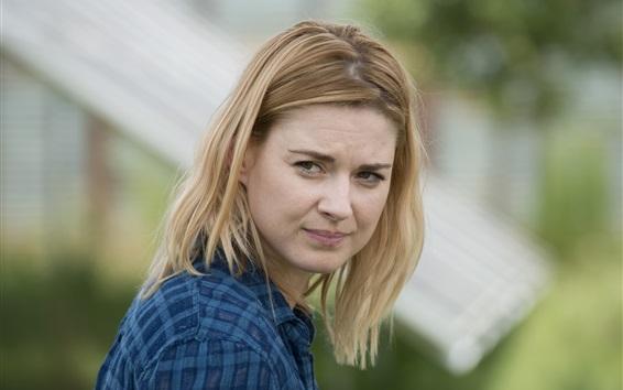Fond d'écran The Walking Dead, Alexandra Breckenridge