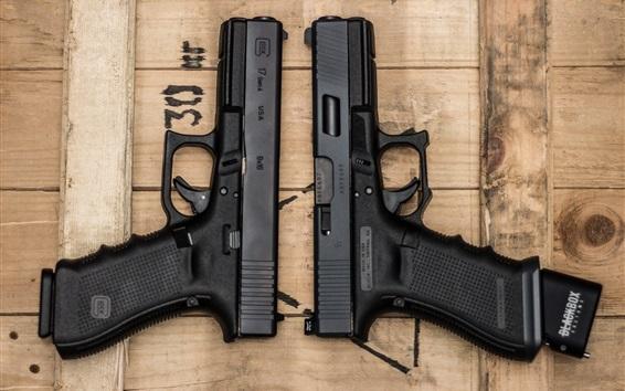 Papéis de Parede Duas armas, arma