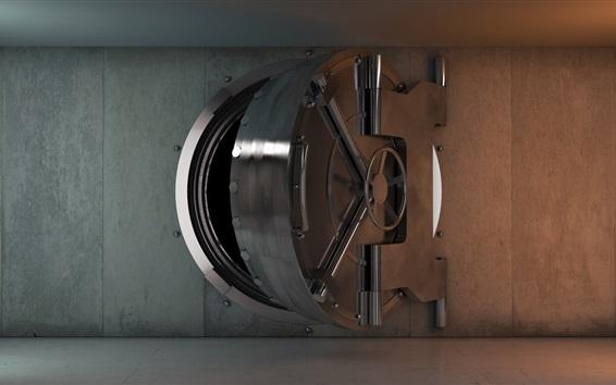 Wallpaper Vault door