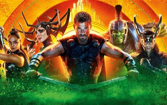 Wallpaper 2017 movie, Thor: Ragnarok