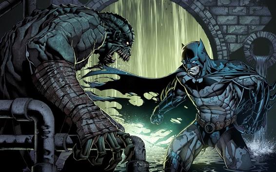 Fond d'écran Batman, DC Comics, photo d'art