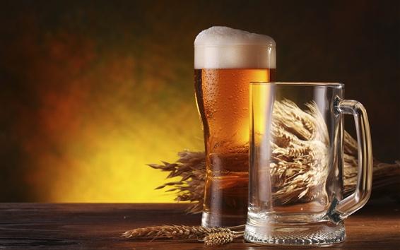Wallpaper Beer, bottle, drinks
