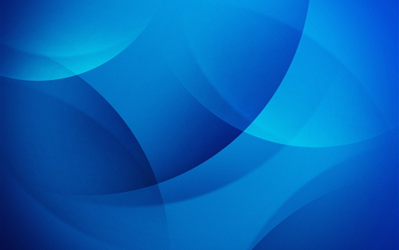 Papéis de Parede Círculos azuis, resumo
