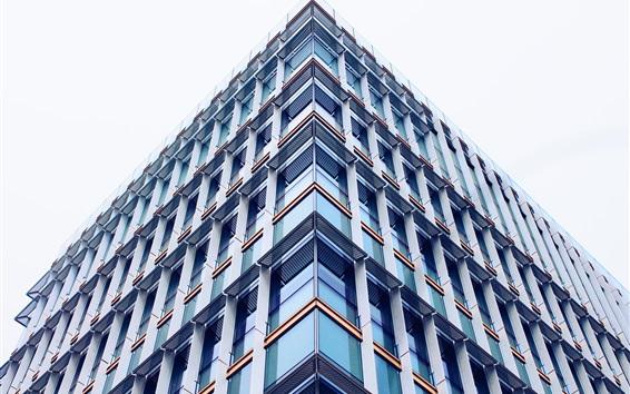 Papéis de Parede Edifícios, janelas de vidro