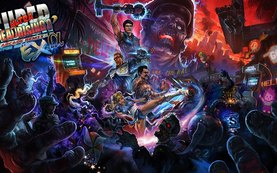 Wallpaper Dead Rising 3, game art picture