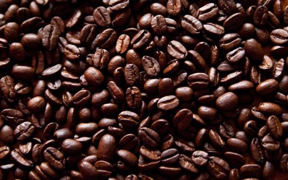 Fond d'écran Haricots de café frits