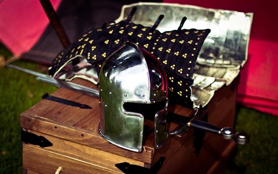 Обои Шлем, меч
