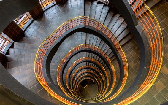 Fondos de pantalla Escaleras en espiral