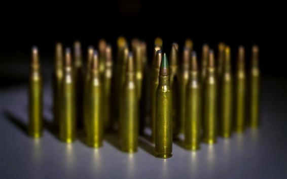 Fond d'écran De nombreuses balles, arme