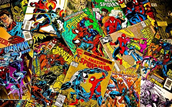 Wallpaper Marvel comics, magazines, covers, spiderman
